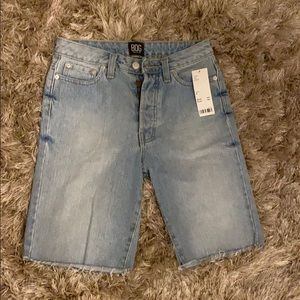 Urban Outfitters Bermuda Jean Shorts-Brand New